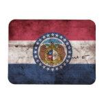 Bandera gastada de Missouri; Iman De Vinilo