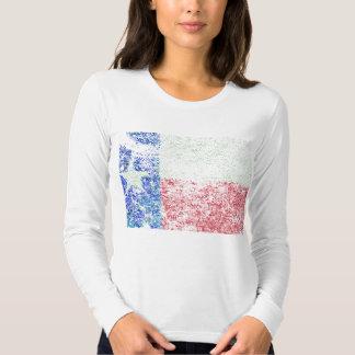 Bandera gastada de Tejas Camisas