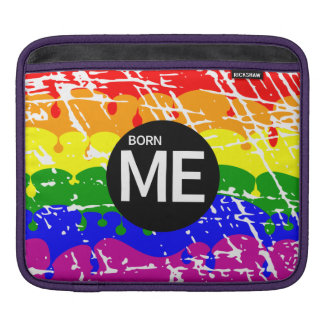 Bandera gay del arco iris llevada esta manera fundas para iPads