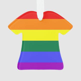 Bandera gay del orgullo del arco iris de la
