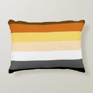 Bandera gay del orgullo del oso de los colores del