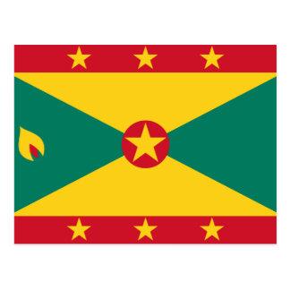 Bandera GD de Grenada Postal