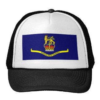 Bandera general del gobernador de Papúa Nueva Guin Gorros Bordados