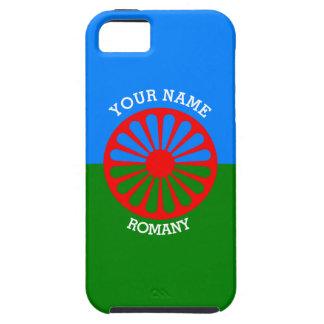Bandera gitana personalizada de los viajeros del iPhone 5 Case-Mate coberturas
