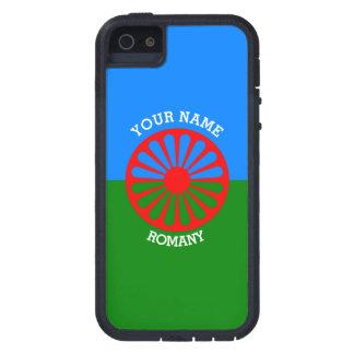 Bandera gitana personalizada de los viajeros del iPhone 5 Case-Mate fundas