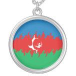 Bandera Gnarly de Azerbaijan Joyería