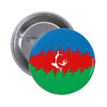 Bandera Gnarly de Azerbaijan Pin