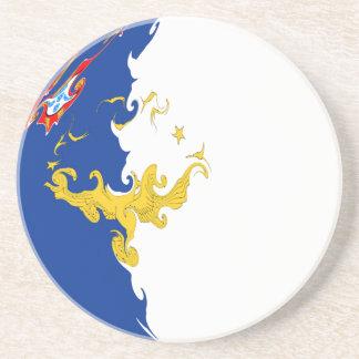 Bandera Gnarly de Azores Posavasos Cerveza