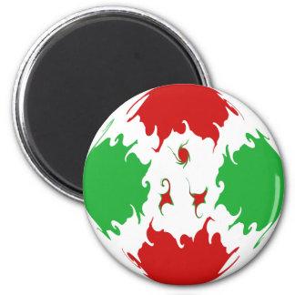 Bandera Gnarly de Burundi Iman De Frigorífico
