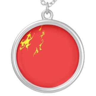 Bandera Gnarly de China Colgante Redondo