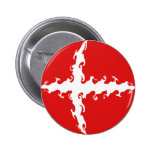 Bandera Gnarly de Dinamarca Pin Redondo De 2 Pulgadas