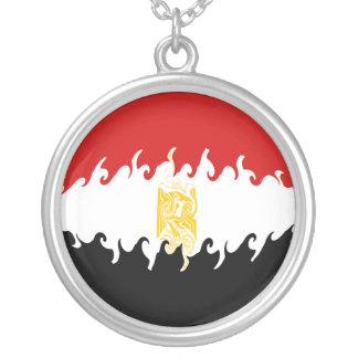 Bandera Gnarly de Egipto Colgante Redondo