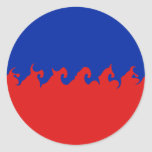 Bandera Gnarly de Haití Etiqueta