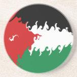 Bandera Gnarly de Jordania Posavasos Manualidades