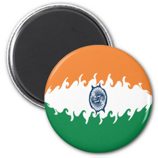 Bandera Gnarly de la India Iman De Nevera