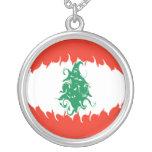 Bandera Gnarly de Líbano Collares