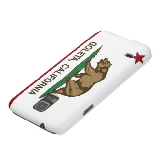 Bandera Goleta del estado de California Funda De Galaxy S5