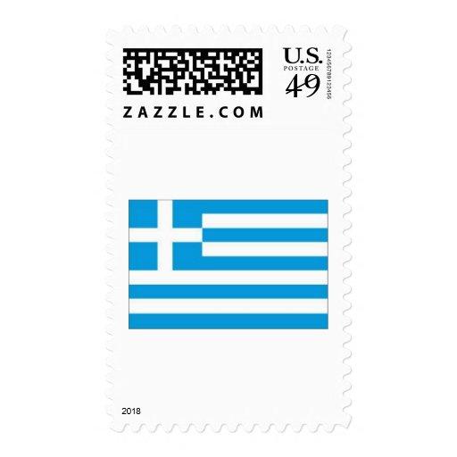 bandera griega franqueo