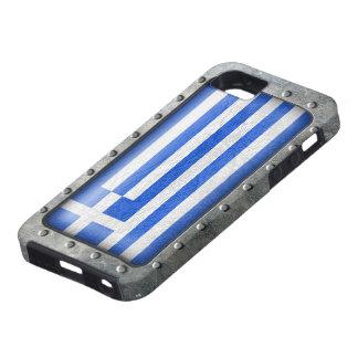 Bandera griega industrial funda para iPhone SE/5/5s