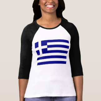 Bandera griega camisetas