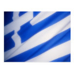 Bandera griega postal