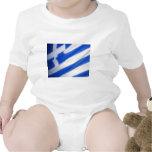 Bandera griega traje de bebé
