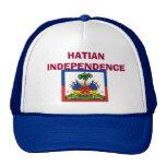 bandera-Haití-detalle-LG, INDEPENDENCIA de HATIAN Gorros