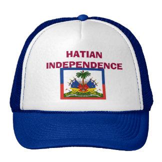 bandera-Haití-detalle-LG, INDEPENDENCIA de HATIAN Gorras De Camionero