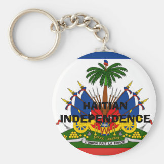 bandera-Haití-detalle-LG, INDEPENDENCIA HAITIANA Llavero