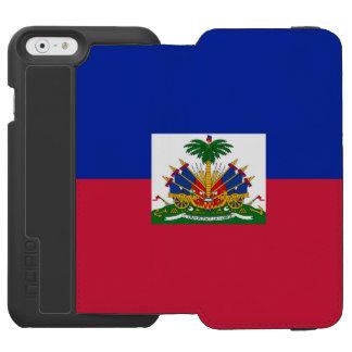 Bandera haitiana funda cartera para iPhone 6 watson