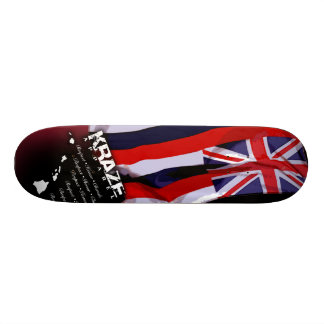 "Bandera hawaiana patineta 7 1/8"""