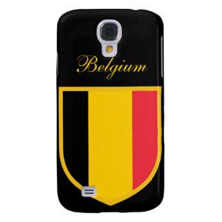 Bandera hermosa de Bélgica Funda Samsung S4