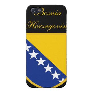 Bandera hermosa de Bosnia y Hercegovina iPhone 5 Fundas