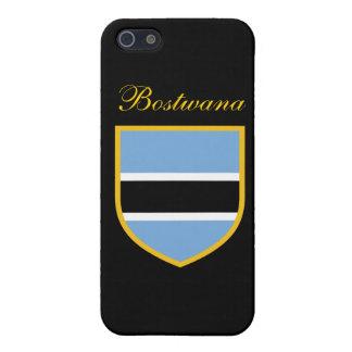 Bandera hermosa de Botswana iPhone 5 Carcasas