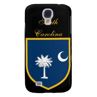 Bandera hermosa de Carolina del Sur Carcasa Para Galaxy S4