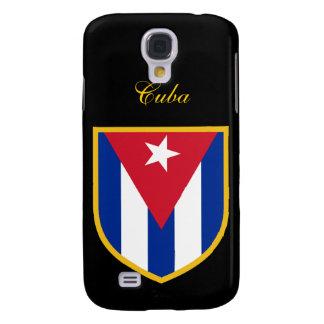 Bandera hermosa de Cuba Funda Para Galaxy S4