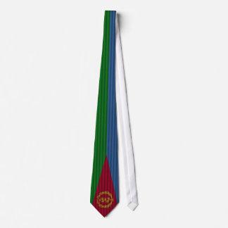 Bandera hermosa de Eritrea Corbata