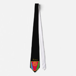 Bandera hermosa de Eritrea Corbatas Personalizadas