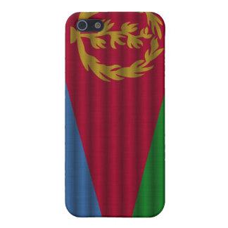 Bandera hermosa de Eritrea iPhone 5 Fundas