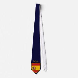 Bandera hermosa de España Corbatas