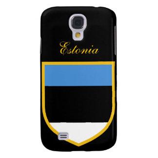 Bandera hermosa de Estonia Funda Para Galaxy S4