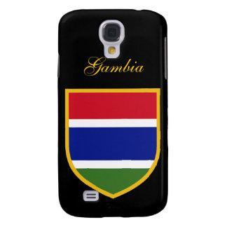 Bandera hermosa de Gambia Funda Para Galaxy S4