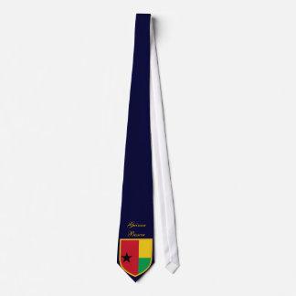 Bandera hermosa de Guinea-Bissau Corbata