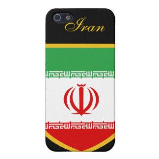 Bandera hermosa de Irán iPhone 5 Fundas