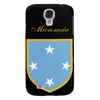 Bandera hermosa de Micronesia Funda Para Galaxy S4