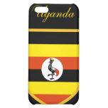 Bandera hermosa de Uganda