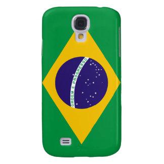 Bandera hermosa del Brasil Funda Para Galaxy S4