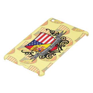 Bandera hispanoamericana del escudo