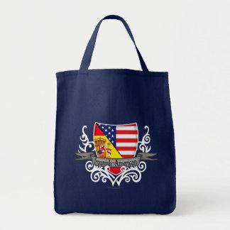 Bandera hispanoamericana del escudo bolsa tela para la compra