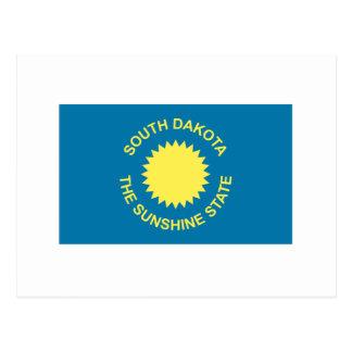 Bandera histórica de Dakota del Sur Tarjeta Postal